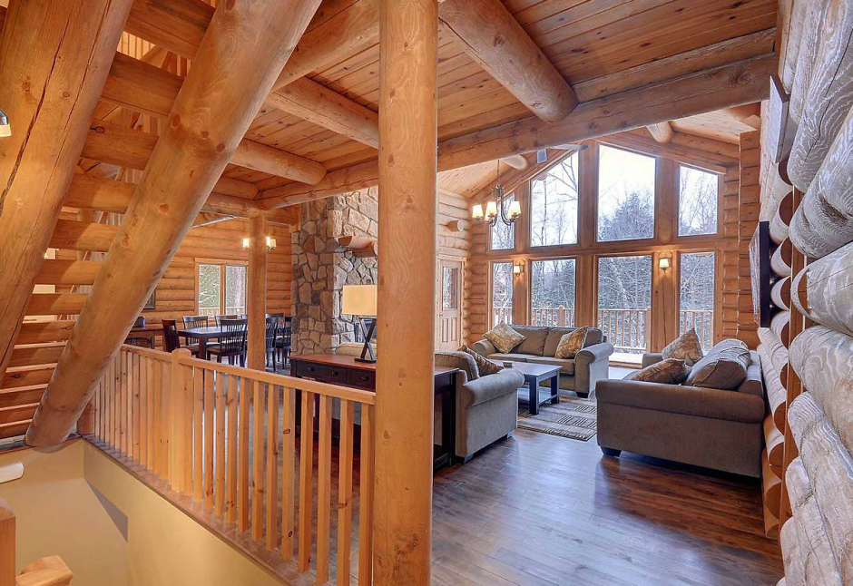 Best interieur chalet bois ideas for Decoration interieur chalet bois